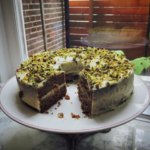 Carrotcake met pistache en kaneel
